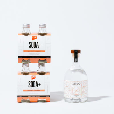 GENERATIONS GIN X CAPI SODA+  BETTER TOGETHER PACKS